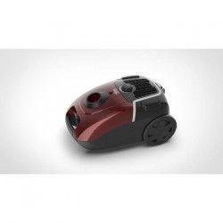 FAURE FVS-8041 Aspirateur traineau avec sac - 800W - performance AAAA - 75 db - Rouge