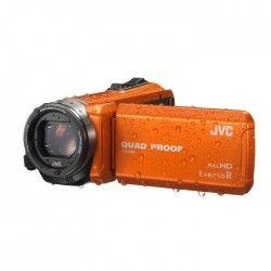 JVC GZ-R415DEU Caméscope Tout-Terrain Etanche Full HD Orange
