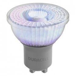 DURACELL Ampoule LED spot réflecteur GU10 5 W équivalent 50 W blanc chaud