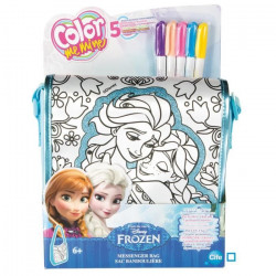 LA REINE DES NEIGES COLOR ME MINE Sac Bandouliere a colorier - Disney