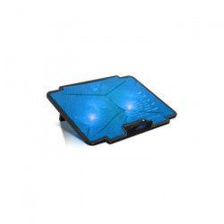 Spirit Of Gamer Refroidisseur PC AirBlade 100 Blue - 15.6` - Double ventilateurs LED - Noir / Bleu