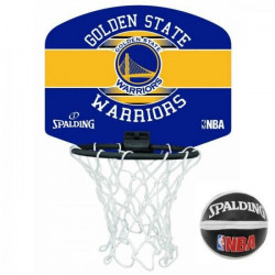 SPALDING Mini panier NBA Golden State Warriors