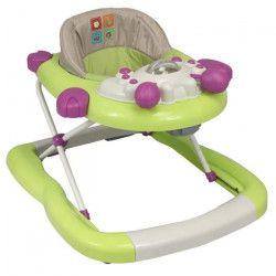 Trotteur bébé avec tablette d`activité, pliage compact
