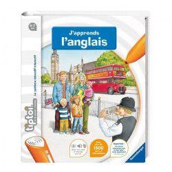 TIPTOI Livre Interactif J`apprends L`Anglais