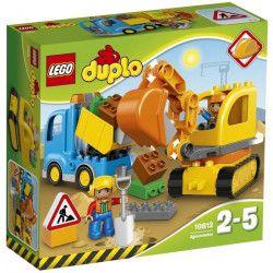 LEGO DUPLO Ville 10812 Le Camion et la Pelleteuse