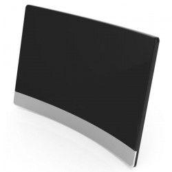 CGV 11531 Antenne d`intérieur An-Curve CE Red TNT HD - Filtre 4G - Incurvée - Haute performance - Noir laqué