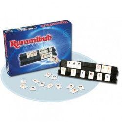 Rummikub - Jeu de société de réflexion - Jeu de Voyage - Boite en métal