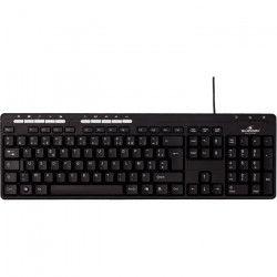 Bluestork BS-KB-MFIRST2/SP clavier USB QWERTY Espagnole Noir