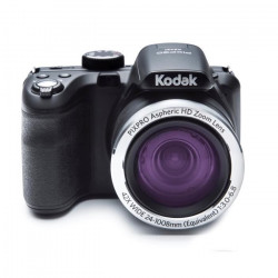 KODAK AZ421 Appareil photo numérique - Zoom optique 42x - Grand angle 24 mm - Ecran 3` LCD - 16 MP - Noir