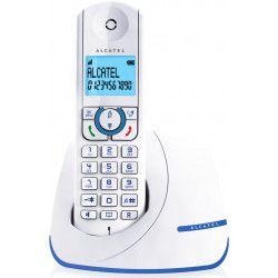 Alcatel F390 Solo Téléphone Sans Fil Sans Répondeur Blanc Bleu