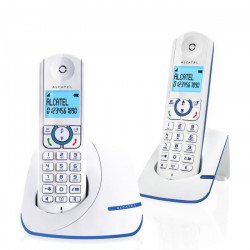 Alcatel F390 Duo Téléphone Sans Fil Sans Répondeur Blanc Bleu