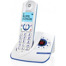 Alcatel F390 Solo Téléphone Sans Fil Répondeur Blanc Bleu