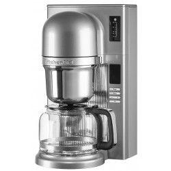 KITCHENAID 5KCM0802ECU Cafetiere filtre programmable - Gris Argent