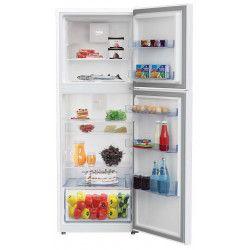 BEKO - RDNT360I20W - Réfrigérateur double porte - 321L (238L + 83L) - Froid Ventilé - A+ - L60cm x H172cm -