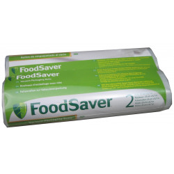 FOODSAVER Lot de 2 rouleaux thermosoudables 20 cm x 6.70 m