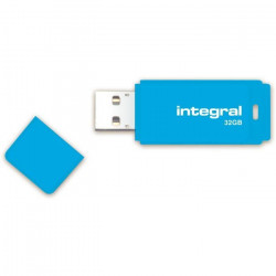 Integral clé USB Neon 32Go Bleu