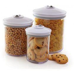 FOODSAVER Lot de 3 boîtes rondes alimentaires