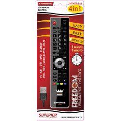 SUPERIOR ELECTRONICS SUP012 Télécommande universelle pour 4 appareils FREEDOM 4?1 - Noir