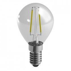 DURACELL Ampoule LED a filaments E14 sphérique 2,4 W équivalent 25 W blanc chaud