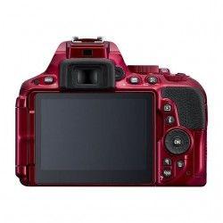 NIKON D5500 Appareil photo numérique Reflex + Objectif AF-P 18-55 VR Rouge
