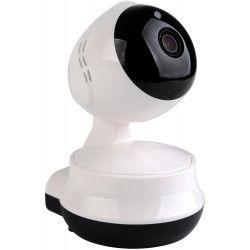 BLUESTORK Caméra de surveillance rotative HD SERENA - Intérieure sans fil - Microphone et enceinte integré -