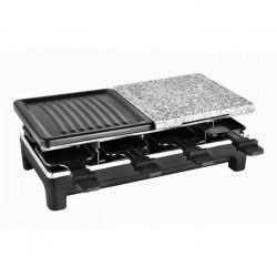 KALORIK TKG RAC 1016 Raclette pour 8 personnes Température variable 1500W Plaque de cuisson 1/2 pierre et 1/2