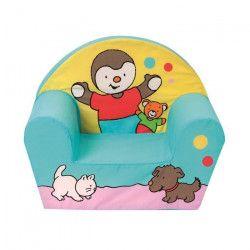 T`choupi fauteuil club pour enfant Tchoupi