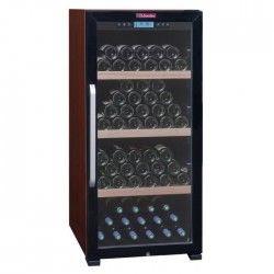 LA SOMMELIERE CTVE 142A - Cave a vin de vieillissement - 149 bouteilles - Pose libre - Classe A - L 59,5 x H 125 cm