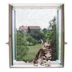 KERBL Filet de protection pour chat - 4x3m - Transparent