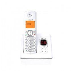 Alcatel F530 Téléphone DECT Identification de l'appelant Gris, Blanc