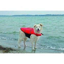 TRIXIE Gilet de flottaison XS: 26 cm rouge/noir pour chien