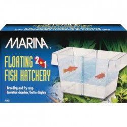 MARINA Pondoir flottant 2 en 1 - 20,8x10x10,6cm - Pour poisson