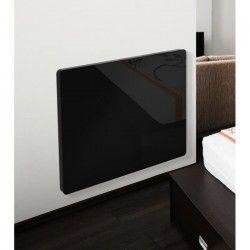 CAYENNE Klaas 1500 watts Radiateur Panneau rayonnant électrique - Façade en Verre Noir