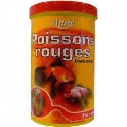 AIME Aliment principal en flocons - Pour poisson rouge - 1l