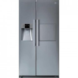 DAEWOO FRN-Q21FCS Réfrigérateur américain-512L(réfri 353L+congel 159L)-Froid ventilé no frost-A+-L90,6xH177cm-Silver