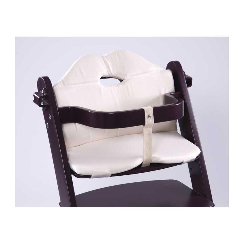 first baby safety chaise haute yaris bois weng. Black Bedroom Furniture Sets. Home Design Ideas