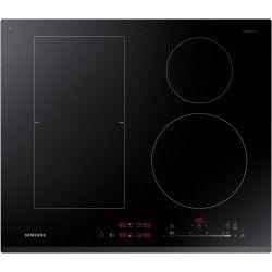 SAMSUNG NZ64K5747BK - Table de cuisson a induction - 4 zones - 7200W - L60 x P52cm - Revetement verre - Noir