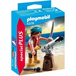 PLAYMOBIL 5378 Canonnier des pirates