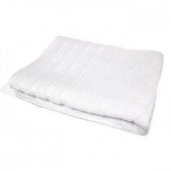 DOUCEUR D'INTERIEUR Serviette de toilette 100% coton Vitamine 50x90 cm blanc