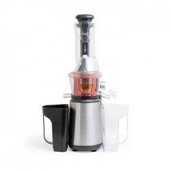 KITCHEN COOK Extracteur de jus Slow Juicer - Inox