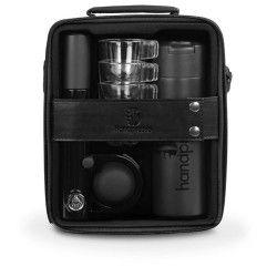HANDPRESSO PUMP SET Coffret machine a expresso manuelle - Noir