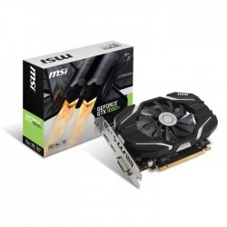 MSI Carte graphique GeForce GTX 1050 Ti 4Go OC GDDR5