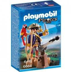 PLAYMOBIL 6684 Capitaine pirate avec canon
