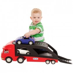 LITTLE TIKES Le transporteur de voitures + 2 voitures incluses
