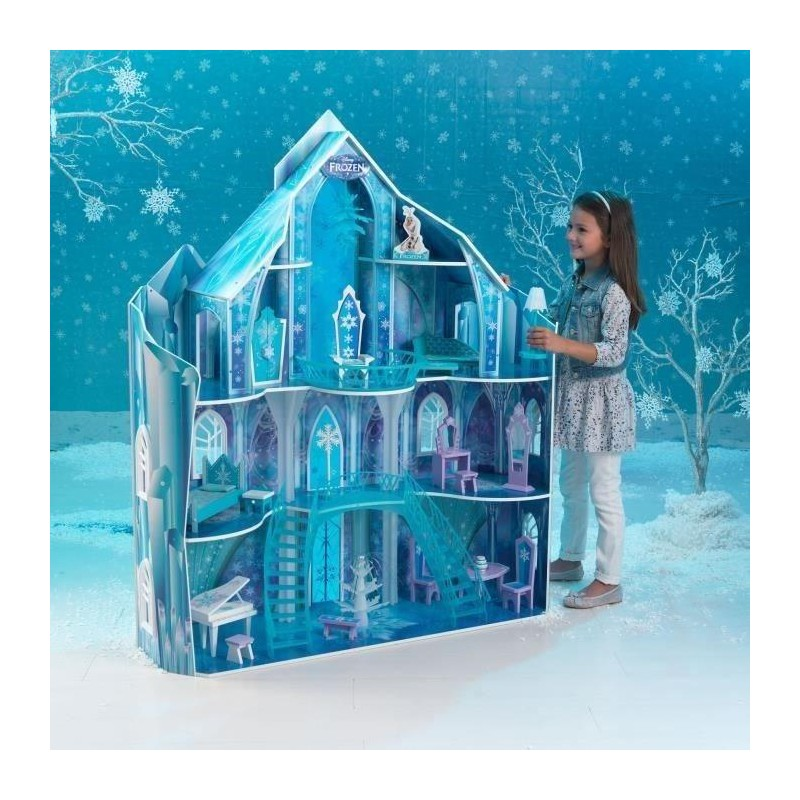 La reine des neiges palais de glace d 39 elsa en bois 19 - Palais de glace reine des neiges ...