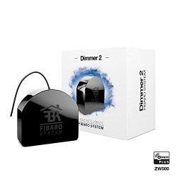 FIBARO Variateur de lumiere Dimmer 2 Z-Wave contrôlable a distance FGD-212