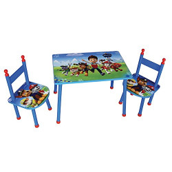 PAT` PATROUILLE Ensemble table et chaise