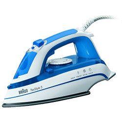 BRAUN TS355A Fer a repasser TexStyle 3 - 2000W - 300 ml - Bleu et blanc