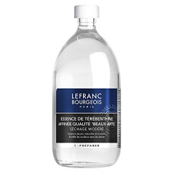 Lefranc Bourgeois Additif Essence Térébenthine Flacon 1L
