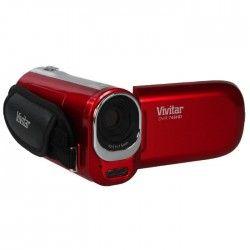 VIVITAR DVR748 HD Caméscope numérique Rouge